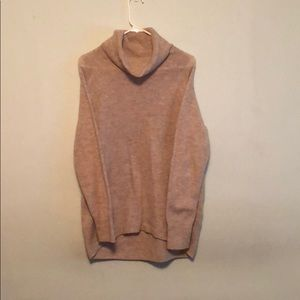 Cowl neck longer sweater. Brand new without tags.